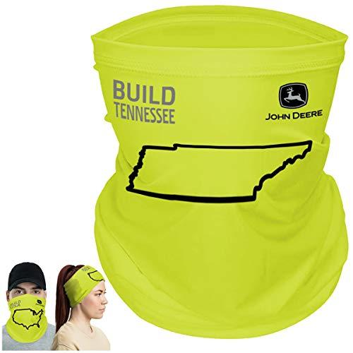 John Deere Build State Pride Neck Gaiter Face Mask, Tennessee
