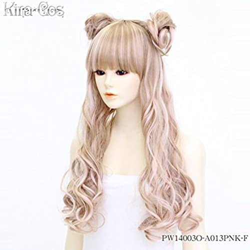 Kirakosu Marble Peach wig cosplay accessories PW14003O-A013PNK