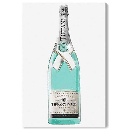 Oliver Gal 'Priceless Champagne' The Fashion Wall Art Decor Collection Modern Premium Canvas Art Print