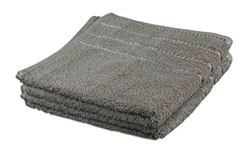 Gözze Handtuch 2er-Set, 100% Baumwolle, 50 x 100 cm, Berlin, Taupe, 101-0625-A4