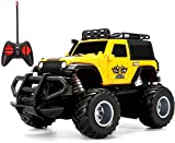 Remote Control Car,Cars Toy for Boys,Remote Control Truck Rc Car for 4 5 6 7 8 Year Old,Toys jeep Kids Gifts for 4-8 Year Old Indoor Outdoors Toys Yellow,1:43 Scale