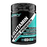 L-Glutamina en polvo - 750 g - Premium: L-Glutamina pura y ultrafina sin aditivos - Aminoácido L-Glutamina 100% micronizado - Neutro sin sabor - Altamente dosificado - Vegano