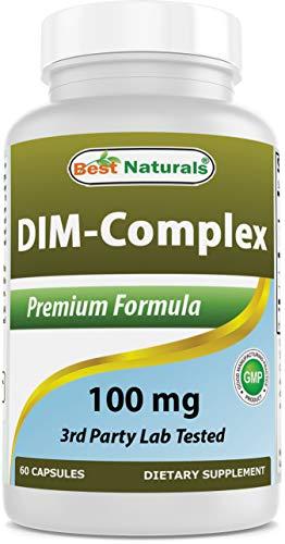 Best Naturals DIM Complex 100 mg 60 Capsules