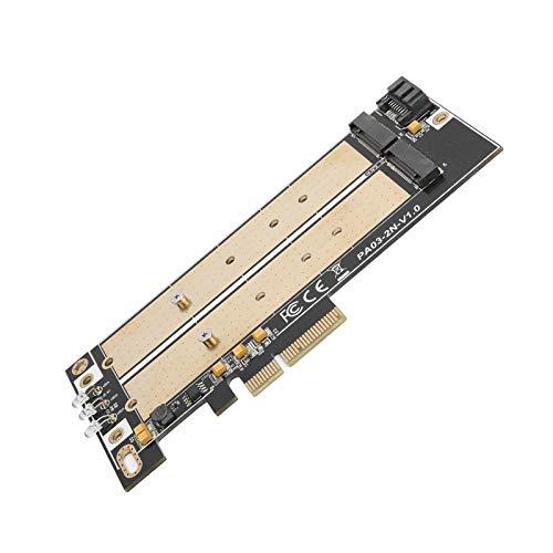 Adaptador PCIE M.2, SSD M.2 NVME Adaptador Pcie Estable M.2 para B-Key + M-Key M.2 2230 para B-Key + M-Key M.2 2242