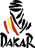 Pegatina Vinilo Logo Dakar España - Casco, Coche, Moto, Bici, Tabla Skate, etc. Kit de 2 Pegatinas …