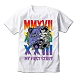 MY FIRST STORY(マイファーストストーリー) ''MMA'' TOUR 2017 FINAL 公式グッズ 幕張限定マイファス君コラボTEE(Tシャツ) ホワイト (M)