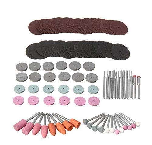 131pcs Kit de herramientas de accesorios de amoladora eléctrica Mini taladro eléctrico rotativo Herramienta multifunción