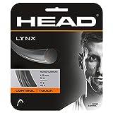 Head Lynx (Set) Cordaje de Tenis, Unisex Adulto, Gris Oscuro, 17