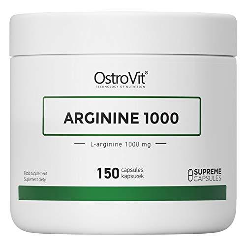 OstroVit Supreme Capsules Arginine 1000 150 caps - L-arginine - No Booster - Amino Acid