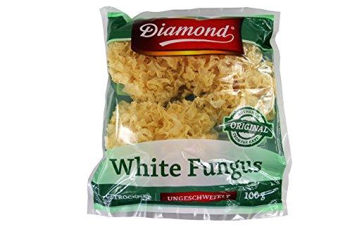 Diamond Getrocknete Weiße Pilze aus China 100g