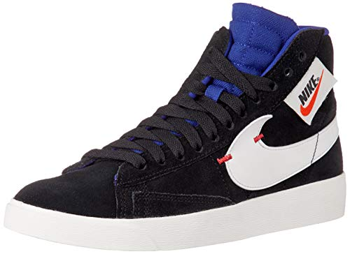 Nike Dames Blazer MID Rebel Zwart/Diep Royal Blauw/Ember Glow/Summit Wit BQ4022-005