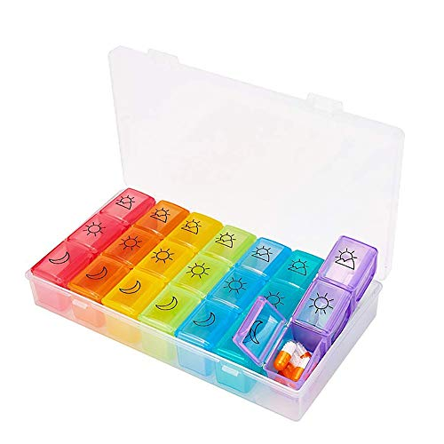 (50% OFF) Weekly Pill Organizer 3 Times a Day $9.99 – Coupon Code