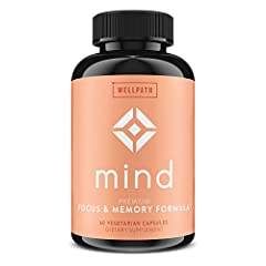 NATURAL BRAIN SUPPORT SUPPLEMENT - Say goodbye to brain fog! Our premium brain booster formula comprises natural ingredients that support enhanced cognitive function, aiming to improve long-term memory, focus, concentration, and more! Ditch the risky...