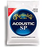 New Martin MSP4100 SP Studio Performance 92/8 Phosphor Bronze Acoustic Guitar Strings, Light