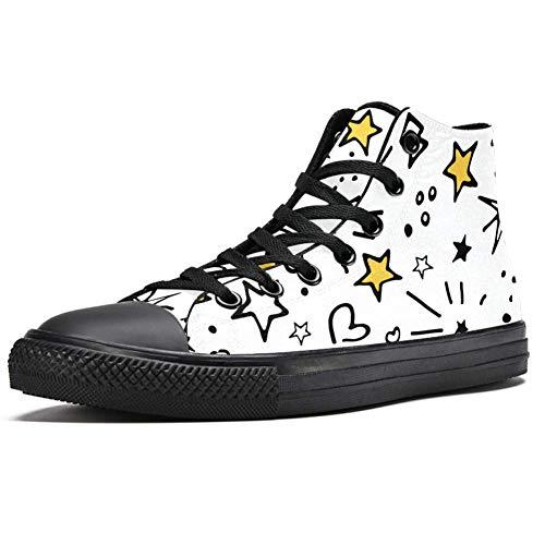 LORVIES - Zapatillas deportivas universales de lona para hombre, (multicolor), 46 EU