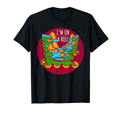 Skaten T-Shirt Flip Rennen Rollen Board Rollschuhe Inliner T-Shirt