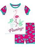 Harry Bear Pijama Corta para niñas Flamingo Rosa 7-8 Años