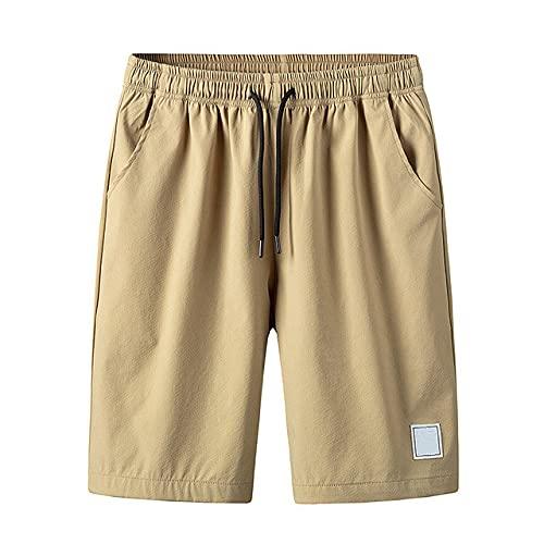 N\P Los hombres de verano casual monos cortos de algodón de cinco puntos pantalones deportivos Tether