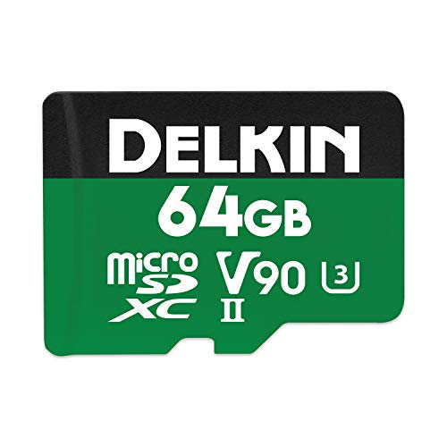 Delkin Devices 64GB Power microSDXC...