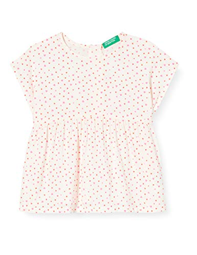United Colors of Benetton Baby-Mädchen Camicia Bluse, Weiß (Urban Chic 65w), 86/92...