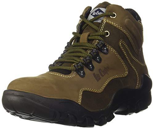Lee Cooper Men's Olive Sneakers - 9 UK (43 EU) (10 US) (LC1657B)