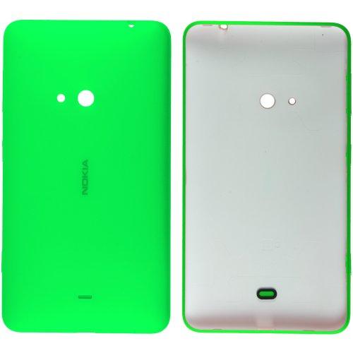 Original Nokia Akkudeckel für Nokia Lumia 625 - green / grün (Akkufachdeckel, Batterieabdeckung, Rückseite, Back-Cover) - 8003086 // mit Seitentasten