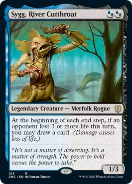 Magic: The Gathering - Sygg, River Cutthroat - Commander: Zendikar Rising
