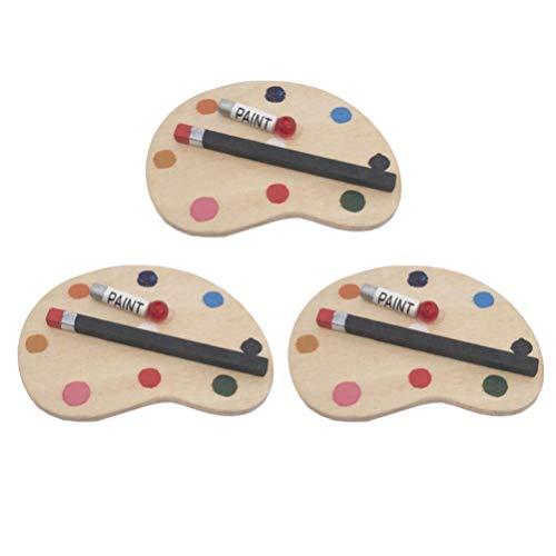 AMOYER 20 Piezas Mini Bisagras De Lat/ón Hardware Rotaci/ón De 180 Grados para La Casa De Mu/ñecas En Miniatura Gabinete De Los Muebles del Armario Bricolaje