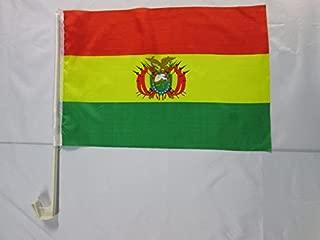 AZ FLAG Guirnalda 6 Metros 20 Banderas de Honduras 21x15cm BANDERINES Bandera HONDURE/ÑA 15 x 21 cm