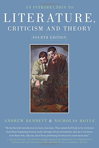 An Introduction to Literature, Criticism and Theory