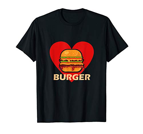 Burger | Fastfood | Food | Schnellimbiss | Hamburger T-Shirt