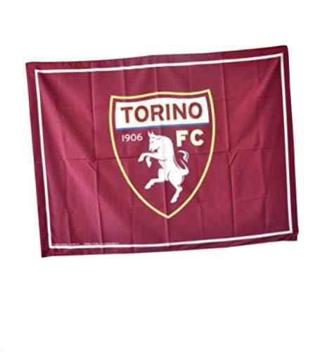 Bandiera Torino Toro Ufficiale Grande cm. 90 x 150 Granata Flag BGTR90x150GR1206