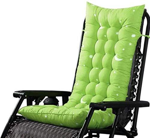 Amortiguador de Asiento de Manera Espesa Color sólido Suave jardín Silla de oscilación de la Cubierta del Amortiguador de Aire Libre Grueso cómodo Asiento Sun Pad Pad Chair (Color : Grass Green)