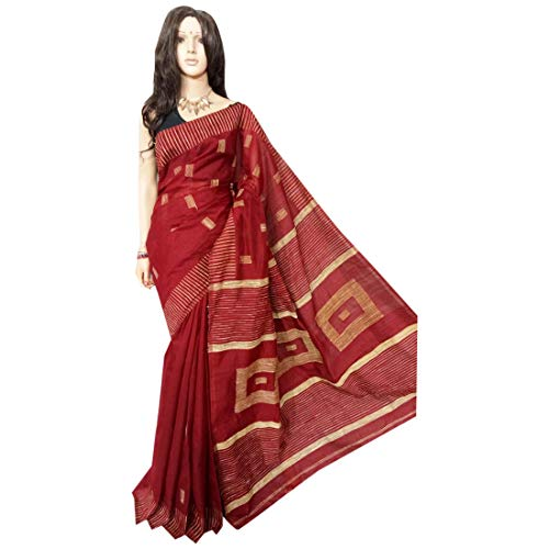 Cyber ​​Monday special Indian Handloom Sari Designer Zari opera Women Drape Saree nero 108A