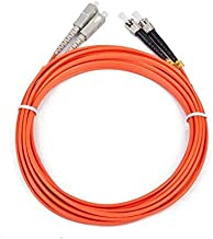 iggual IGG311486 2m 2X ST 2X SC Naranja Cable de Fibra optica - Cable de Fibra óptica (2X ST, 2X SC, Macho/Macho, OM2, Naranja, Multi-Mode)