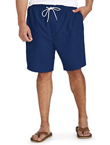 Amazon Essentials Men's Big & Tall Quick-Dry Swim Trunk fit by DXL, Navy, 3XL
