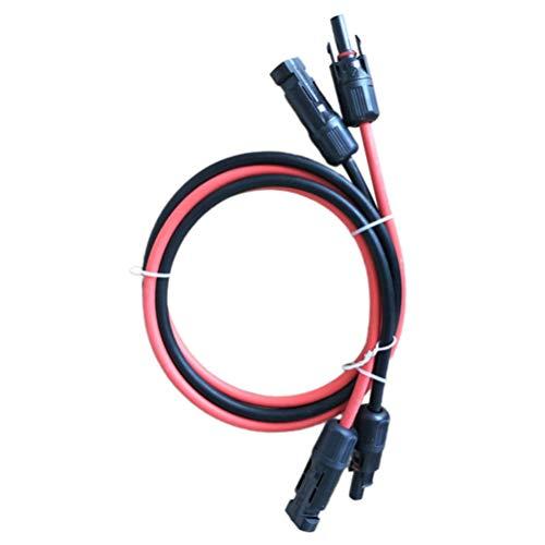 ULTECHNOVO 2Pcs Cable de Extensión Solar Cable Adaptador de