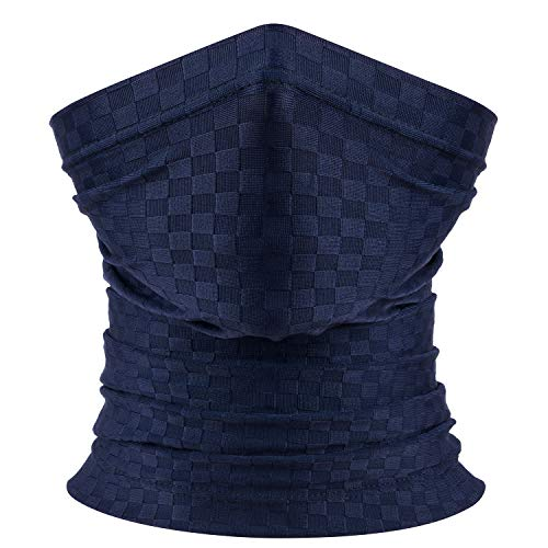 Unisex Neck Gaiter Face Scarf/Face Cover Breathable for UV Protection Dust Wind