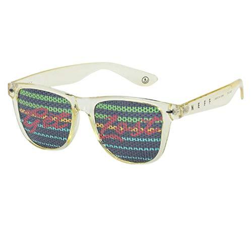 Neff - Gafas de Sol Unisex sin Montura para Todos los Lentes, para Hombres o Mujeres - Amarillo - Talla única