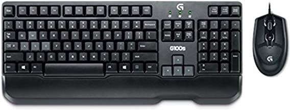 Logitech G100s Wired Gaming Combo (Black)