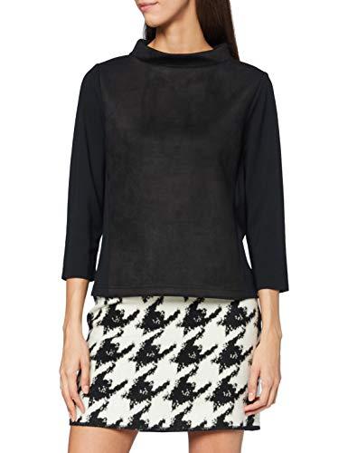 OPUS Damen Goleda Sweatshirt, Black, 38