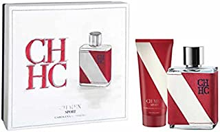 Carolina Herrera Ch Men Sport Gift Set Of 100ml Eau de Toilette 100ml Body Lotion