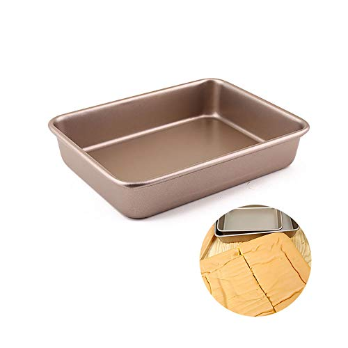 Baking Sheets, Stainless Steel Cookie Sheet Baking Pan, Rectangle, Easy Clean and Dishwasher Safe, for Toaster Oven Replacement,24244.5cm