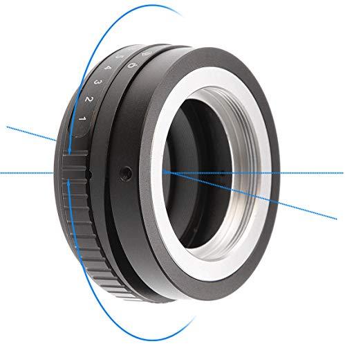 Shuangyu Tilt-Shift 360° Linse Drehen Sie den Lens Adapter für Nikon AI F Mount Objektiv auf Fujifilm FX X Montieren Kamera
