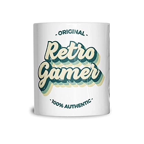 Taza de té de la novedad original retro jugador, 100% auténtico, hermoso, elegante y duradero, tazas garantizadas que te gustan 11 oz