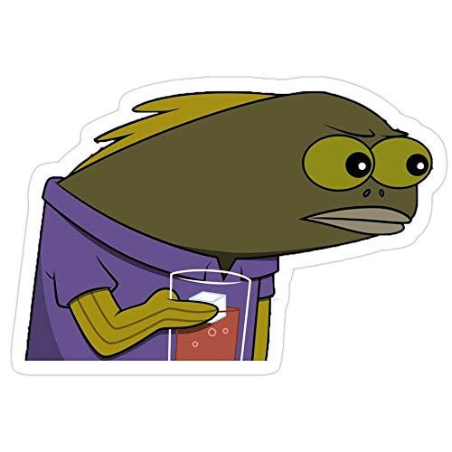 VinMea Big Lens Store Spongebob Tom Meme Stickers (3 Pcs/Pack)