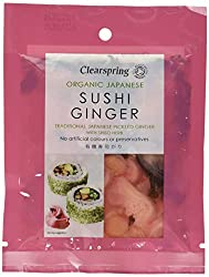 Fresh, zesty taste ginger pickle Ginger stimulates the appetite and invigorates the taste buds Sushi ginger combines well with both Western and Asian dishes Ready to use pickle A perfect complement for tempura and other fried foods, fish