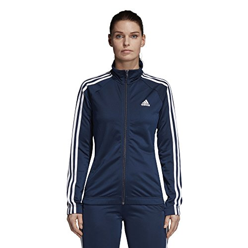 adidas Women's Designed-2-Move Track Jacket, Collegiate Navy/White, X-Large