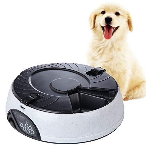Getimede Kat Feeders Automatische Hond Feeder Kat Feeder Kom Microchip Kat Feeder Kat Voedsel Opslag Huisdier Droog Voedsel Dispenser gray