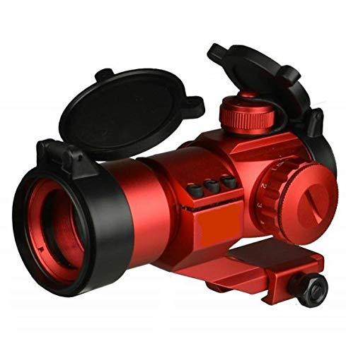 DB TAC Anodized Red Finish Tactical 1x30 35mm Red Green Dot Reflex Optic Sight Aluminum 6063